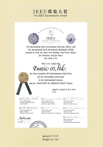 Zertifikat IEEU